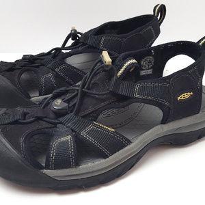 Keen Black Waterproof Hiking Sandals Womens 9.5
